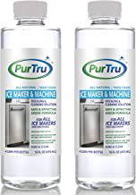 Ice Maker & Ice Machine Descaling & Cleaning Solution (2 Pack) - All Natural and Nickel Safe Descaler & Cleaner For RCA, Scotsman, Manitowoc and All Countertop, Undercounter and Freestanding Machines