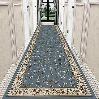 TONGQU Tapis de Passage, Design Traditionnel Lavable antiderapant Tapis de Couloir Au Mètre pour Hall/Cuisine/Couloir/Salo...