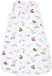 aden + anais Baby Sleeping Bag, 100% Cotton Muslin, Wearable Swaddle Blanket for Girls & Boys, Newborn Sleep Sack, Breatha...