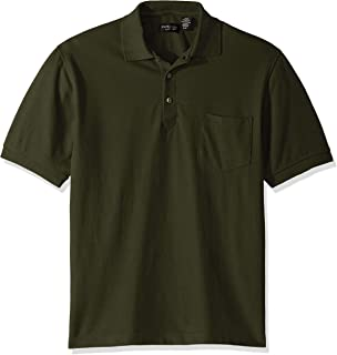 Clementine Men's ULTC-8544-Whisper Piqué Polo with Pocket