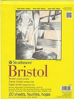 300 Series Bristol Smooth Pad, 9