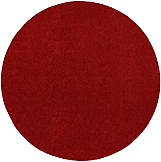 Best large red round rug Reviews