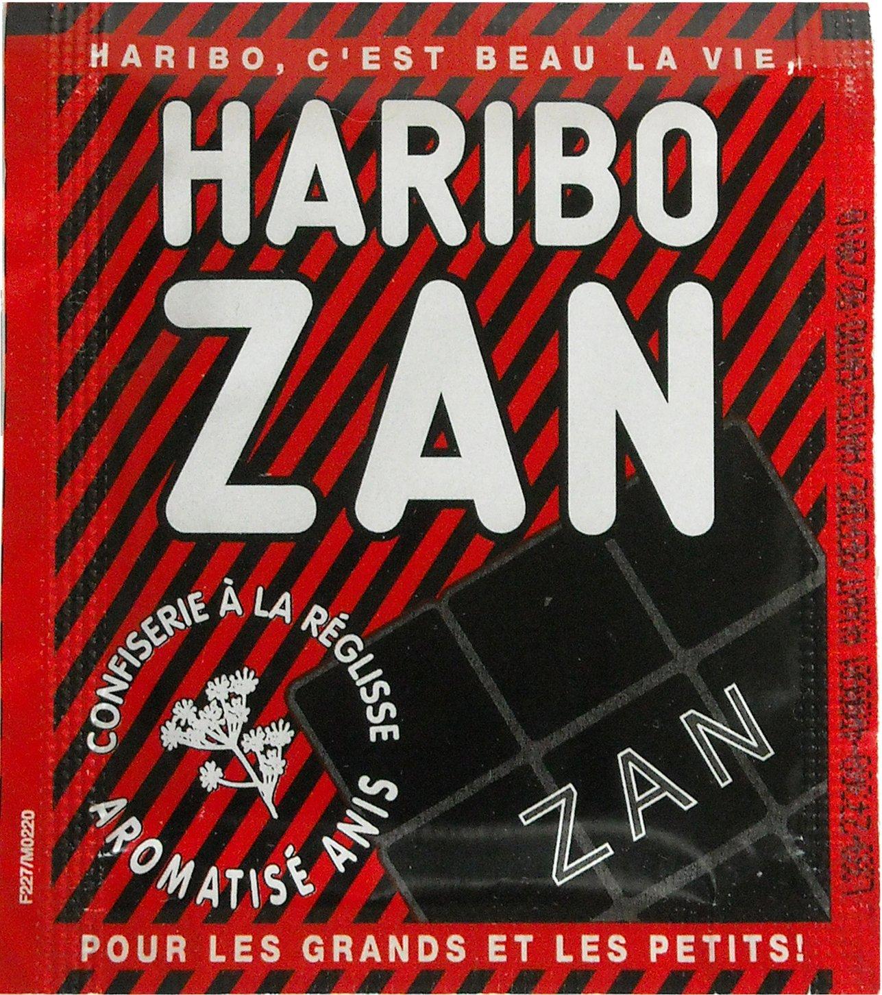Zan, anís Flavored Regaliz 5Pack 5x 12g (5x 0.4oz)