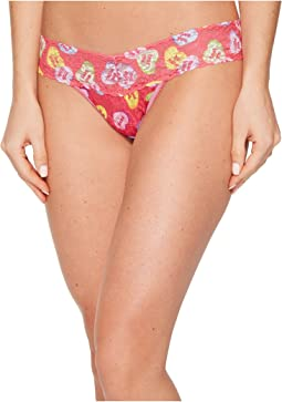 Sweet Hearts Low Rise Thong