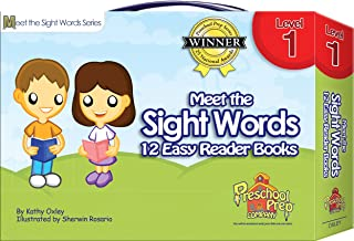 Meet the Sight Words - Level 1 - Easy Reader Books (boxed set of 12 books)