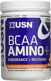 USN Supplements BCAA Amino + Supplement, Mango Pineapple, 11.60 Ounce (8830083)