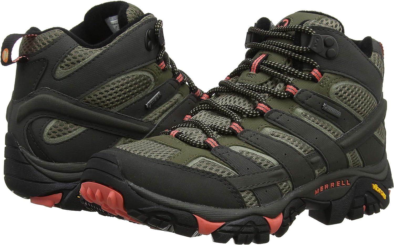 Amazoncom Merrell Mens Moab 2 Mid Gtx Hiking BootSports