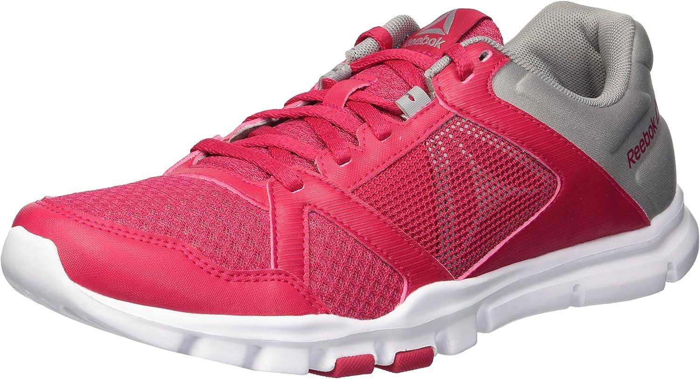 Reebok Womens Yourflex Trainette 10 MT Cross Trainer Low Top Lace Up Running Sneaker