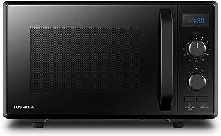 TOSHIBA Four à Micro-ondes 900 W 23 L, Grill 1050 W, Fonction d'Économie d'Énergie, 8 Menus Préprogrammés, 5 Niveaux de Pu...