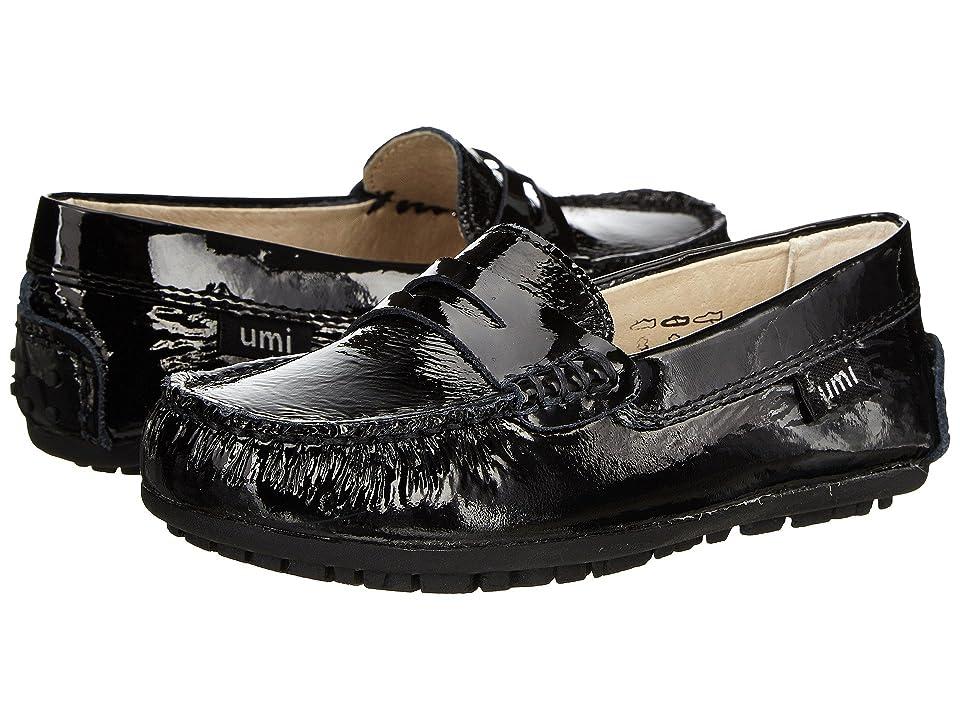 Umi Kids Morie B (Toddler/Little Kid/Big Kid) (Black Patent) Girls Shoes