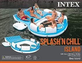 Intex Splash 'N Chill, Inflatable Relaxation Island, 145