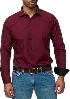 quality design 7e0e1 8fef4 Suchergebnis auf Amazon.de für: hemd bordeaux: Bekleidung