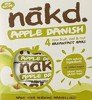 Nakd Apple Danish Bars Multipacks (Pack of 4), 120 g