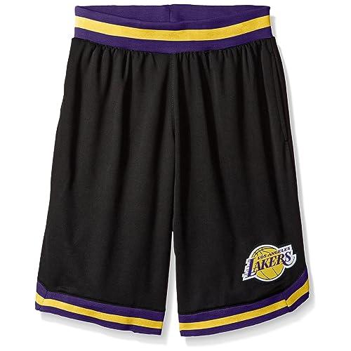 66de4465 UNK NBA Men's Mesh Basketball Shorts Woven Active Basic, Black