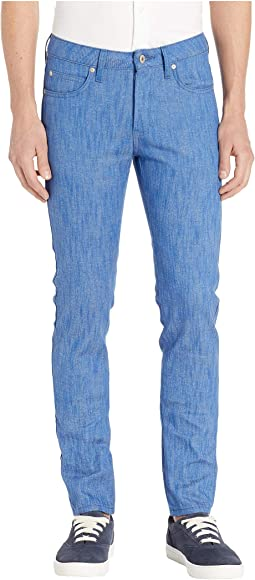 Super Guy Blue Storm Slub Jeans