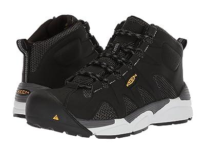 Keen Utility San Antonio Mid Aluminum Toe (Black/Silver) Men