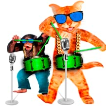 Singing Cat versus Talking Monkey