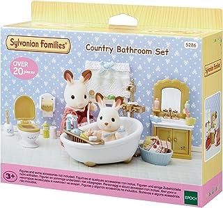 Sylvanian Families Country Bathroom Set, Multi-Colour, 5286