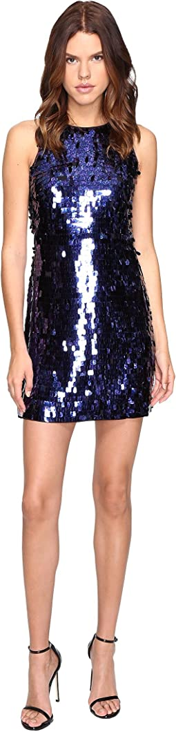 All Over Paillette Dress