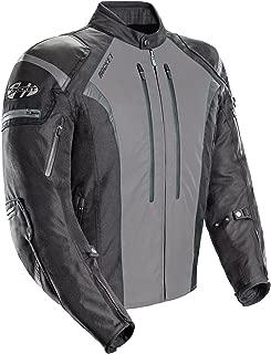 Joe Rocket Atomic Men's 5.0 Textile Motorcycle Jacket (Grey, Medium)