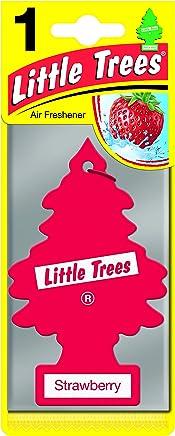Air Freshener - LITTLE TREES 'Tree' - 'Strawberry' Fragrance MTR0013 - For Car Home - 1 Unit