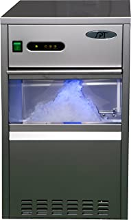 SPT SZB-20 Automatic Flake Ice Maker - 66-lb, Stainless Steel