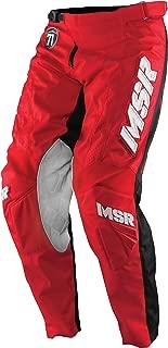 MSR Legend 71 Pants Black/Red (Red, 36)