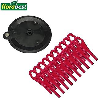 comprar comparacion Florabest 273039 - Cuchillas de plástico (20 unidades, con disco de corte para cortabordes Florabest con batería FAT 18 B3...