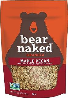 Bear Naked Maple Pecan Granola - Non-GMO, Kosher Dairy, Whole Grains - 12 Oz