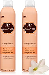 HASK Dry Shampoo Kits for all hair types, aluminum free, no sulfates, parabens, phthalates, gluten or artificial colors, N...