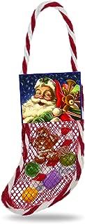 Hallmark Keepsake Mini Christmas Ornament 2018 Year Dated, Lil' Stuffed Stocking Miniature, 1.56