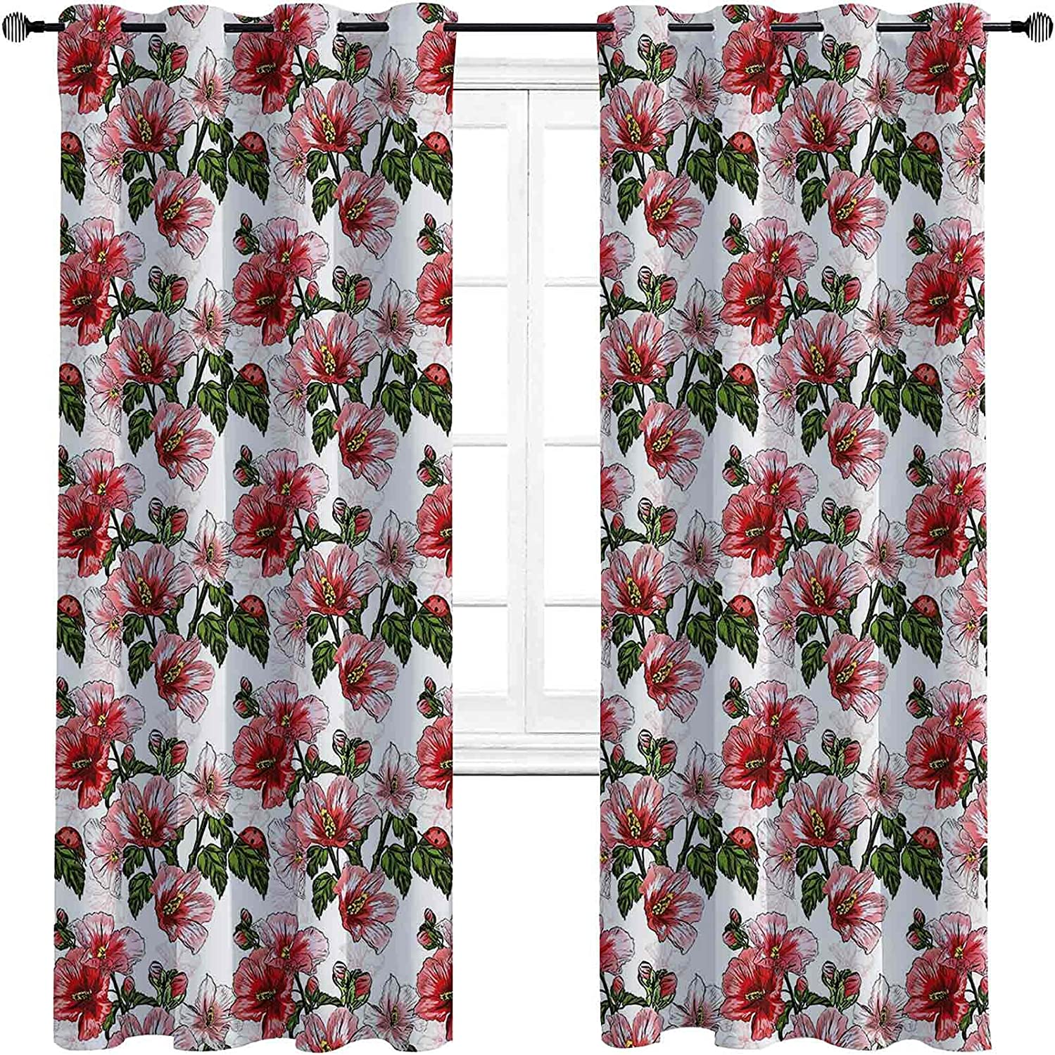 Ladybugs The Living Room Beauty products has Max 51% OFF Curtains Exotic Powerful Blackout