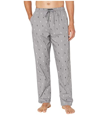 Polo Ralph Lauren All Over Pony Sleep Pants (Museum Grey/Polo Black/Nevis All Over Pony Print) Men