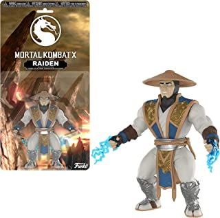Funko Raiden x Mortal Kombat Mini Action Figure + 1 Video Games Themed Trading Card Bundle