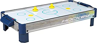 Air Hockey Tabletop Game Table for Kids   Lanos 40 Inch Electronic Air Hockey Game with Powerful Air Blower, 2 Paddles, and 2 Pucks   Electronic Ice Hockey Gifts, Kids Sports Air Hockey Game