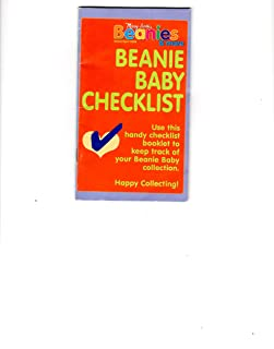 Ty Beanie Babies: A Personal Checklist (Collector's Pocket Planner)