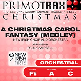 christmas medley backing track