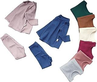6M - 7Años Bebé Unisex Niñas y Niños Pijamas de algodón Acanalados Suaves y cómodos Ropa de Uso Diario de casa Conjunto de...