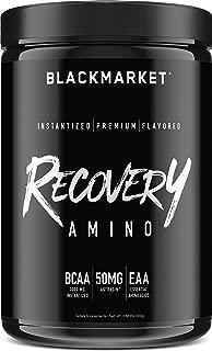 BLACKMARKET Recovery Amino, Cucumber Lemon, 30 Servings, 300g