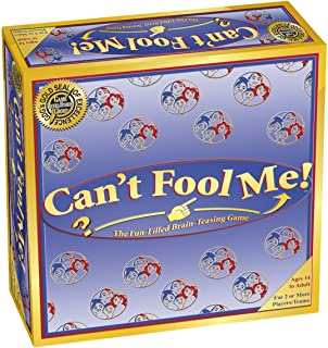Can't Fool Me - Board Game for Families and Adults
