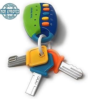 Flash llave de auto con música juguete de bebé.
