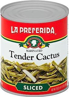 La Preferida Tender Cactus - Nopalitos Tiernos, 28 oz (Pack - 3)