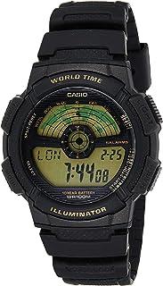 ساعة كوارتز رياضية بعرض رقمي للرجال من كاسيو