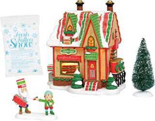 Department 56 North Pole Series Village Ribbon Candy - Set