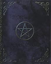 Magic Spell Book: of Shadows / Grimoire ( Gifts ) [ 90 Blank Attractive Spells Records & more * Paperback Notebook / Journal * Large * Pentacle ] (Magick Gifts)