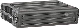SKB 2U Roto Shallow Rack Case with Steel Rails [並行輸入品]