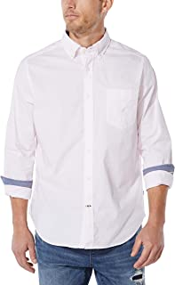 Nautica Camisa de popelina a cuadros para hombre