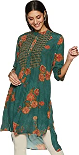 Women's Viscose Crepe Flared Kurta