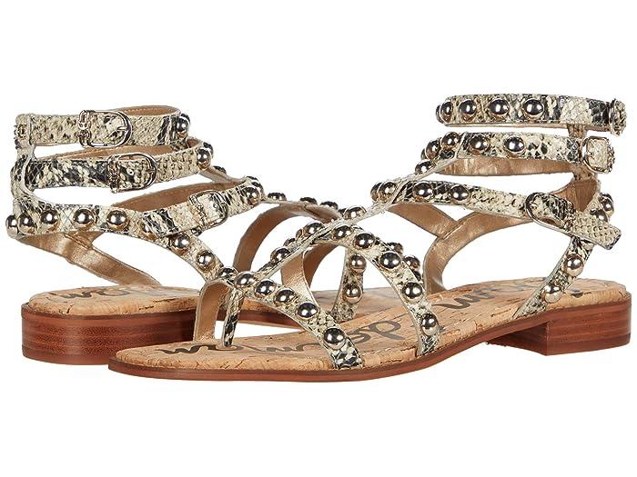 Sam Edelman  Eavan (Beach Multi Pacific Snake Leather) Womens Shoes