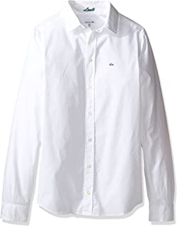 Lacoste Boy's Boy Ls Classic Oxford Shirt Dress Shirt